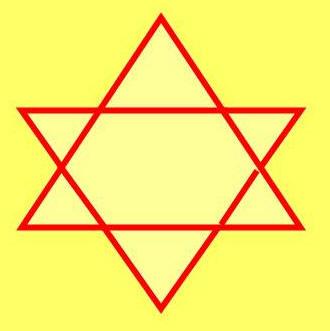 Weissheitspyramide davidsstern